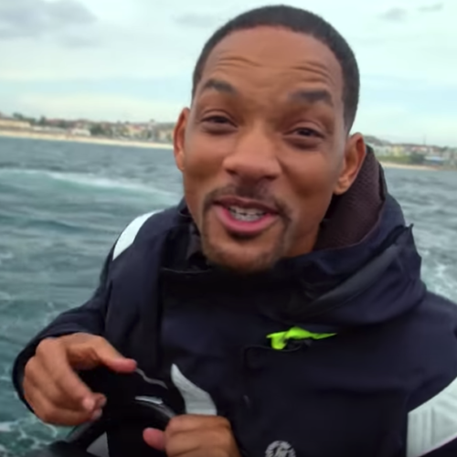Will Smith onboard Ocean Extreme